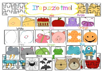 Puzzles by colours