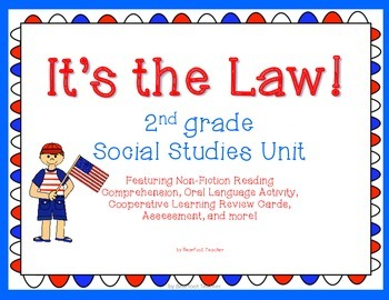 it s the law 2nd grade social studies government unit by short and