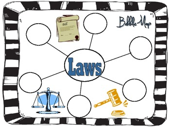 It's the Law Graphic Organizers