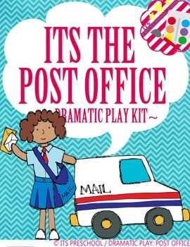It's the Post Office Dramatic Play Kit