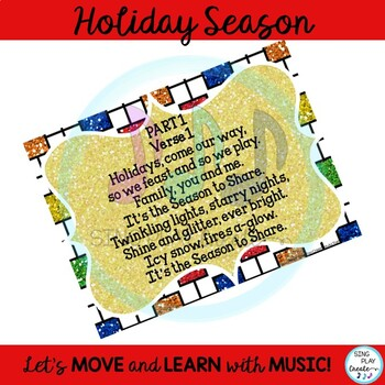 "Holiday Song: ""It's the Season to Share"" 2 part Choir with Mp3 Tracks"