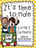 It's time to ride! Long I Word Work Centers