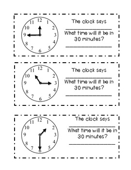 It's time to tell TIME! (Math activities)