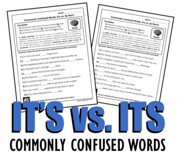 It's vs. Its (Commonly Confused Words Series)