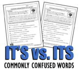 Homophones: It's vs. Its (Commonly Confused Words Series)