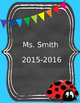 Itsy Bitsy Binder Pages --EDITABLE