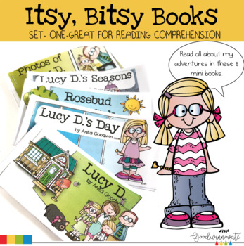 Itsy Bitsy Books Set One-Comprehension for younger students