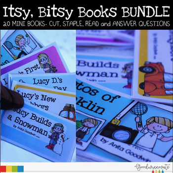Itsy Bitsy Books Set One-Four Comprehension for younger students
