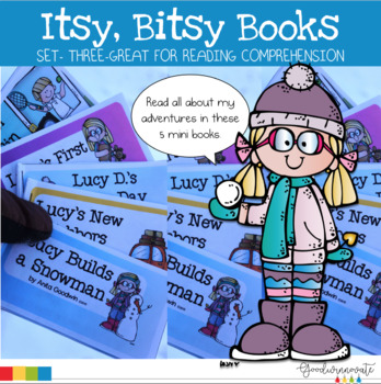 Itsy Bitsy Books Set Three-Comprehension for younger students