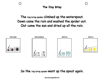 Itsy Bitsy, Medium Sized and Big Fat Spider! An Adapted Interactive Book