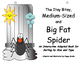 Itsy Bitsy, Medium Sized and Big Fat Spider! An Adapted In