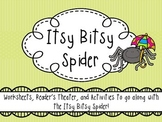 Itsy Bitsy Spider - Activity Packet / Reader's Theater