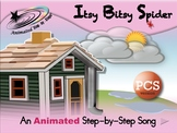 Itsy Bitsy Spider - Animated Step-by-Step Song - PCS