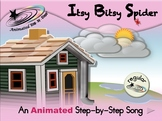 Itsy Bitsy Spider - Animated Step-by-Step Song - Regular