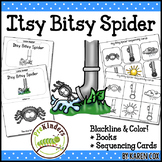 Itsy Bitsy Spider Books & Sequencing Cards