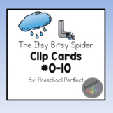 The Itsy Bitsy Spider Clip Cards