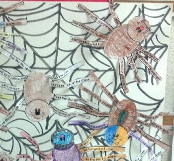 Itsy Bitsy Spider Craft / Sequencing Activity