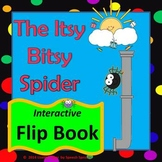 Itsy Bitsy Spider Flip Book for Preschool and Kindergarten Speech Therapy