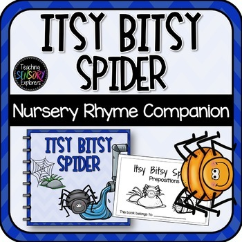 Itsy Bitsy Spider/ Incy Wincy: Interactive Book, Props + Activities