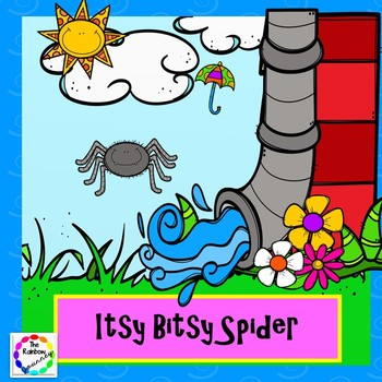 Itsy Bitsy Spider Interactive Book