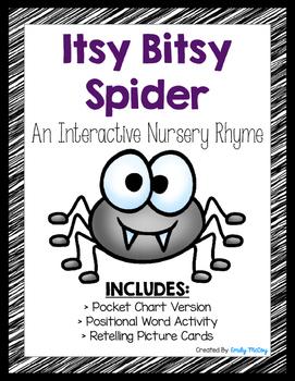 Itsy Bitsy Spider-Interactive Nursery Rhyme