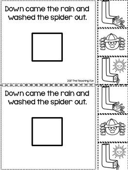 Itsy Bitsy Spider {Interactive Reader}