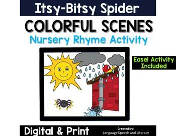 No print Speech Therapy Nursery Rhyme Scenes