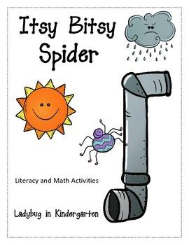 Itsy Bitsy Spider Literacy