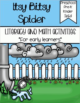 Itsy Bitsy Spider - Literacy & Math for Early Learners