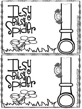 Nursery Rhyme Itsy Bitsy Spider