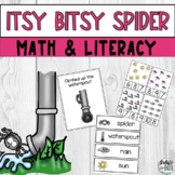 Itsy Bitsy Spider Nursery Rhyme Hands On Literacy Math Act
