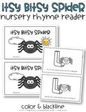 Itsy Bitsy Spider {Nursery Rhyme Reader}