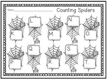 Itsy Bitsy Spider Nursery Rhyme Set