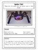 Spider Packet- Language Arts, Math,  Art, Science