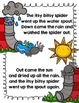 Itsy Bitsy Spider {Nursery Rhyme, literacy, math, and craft}