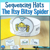 Itsy Bitsy Spider Sequencing Hats