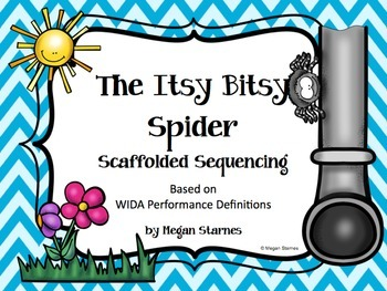 Itsy Bitsy Spider Unit (differentiated for language learners)
