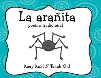 Itsy bitsy spider-Spanish