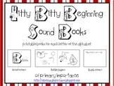 Itty Bitty Beginning Sound Books