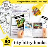 Nonfiction Passages - No Prep Booklets