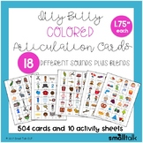 Itty Bitty Colored Articulation Cards