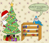 """""""Itty-Bitty Elf"""" learning fun for the Smartboard"""