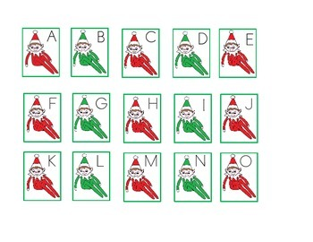Itty-Bitty Elves Math and Literacy pack