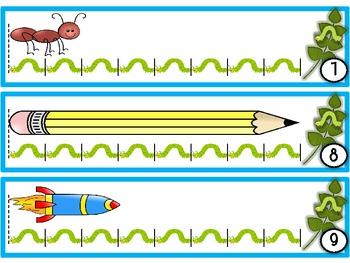 Itty Bitty Inchworm {Standard & Non-Standard Measurement}