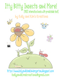 Itty Bitty Insects & More! (interactive books with predict