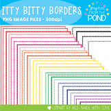 Itty Bitty Scalloped Borders - 32 Fun Borders