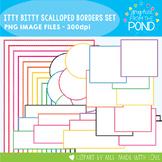 Itty Bitty Scalloped Borders - Bright Super Set