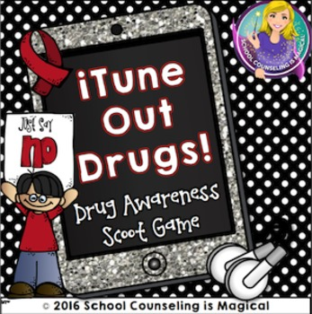 itune Out Drugs: Draw Awareness Scoot Game
