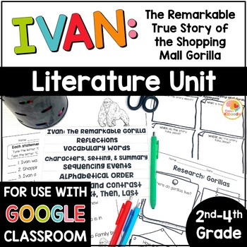 True teaching resources teachers pay teachers ivan the remarkable true story of the shopping mall gorilla fandeluxe Image collections
