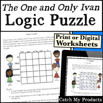 The One and Only Ivan Activities  Logic Puzzle